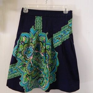 Lilly Pulitzer Pleated Skirt sz 4